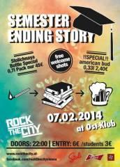 Semester Ending Story, 1040 Wien  4. (Wien), 07.02.2014, 22:00 Uhr