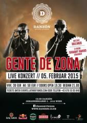 Grammy Award Winner Gente de Zona live in Wien, 1010 Wien  1. (Wien), 05.02.2015, 19:30 Uhr