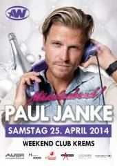 Der Bachelor kommt! Paul Janke @ Weekend Club Krems, 3500 Krems an der Donau (NÖ), 25.04.2014, 22:00 Uhr
