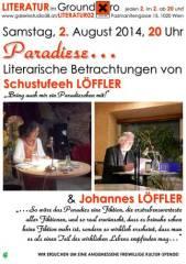 Literarische Betrachtungen über mögliche Paradiese im Ground Xiro!, 1020 Wien  2. (Wien), 02.08.2014, 20:00 Uhr