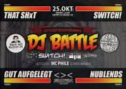 """Ready2Rumble """"DJ Battle' @ <>< Grelle Forelle, 1090 Wien  9. (Wien), 25.10.2014, 22:00 Uhr"""