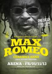 Max Romeo - Live at One Drop Reggae Festival 2013, 1030 Wien  3. (Wien), 01.11.2013, 19:00 Uhr