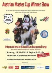 Austrian Master Cup Winner Show 2014, 2700 Wiener Neustadt (NÖ), 25.05.2014, 09:00 Uhr