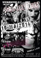 Barb Wire Dolls (US) + support, 1160 Wien 16. (Wien), 10.05.2014, 20:00 Uhr