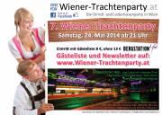 7. Wiener-Trachtenparty - Die Frühlingsparty in der Bergstation Tirol am Karlsplatz 5, 1010 Wien Samstag, 24. Mai 2014 ab 21 Uhr!  - www.wiener-trachtenparty.at, 1010 Wien,Innere Stadt (Wien), 24.05.2014, 21:00 Uhr