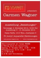 Carmen Wagner / Einzelausstellung, 1010 Wien  1. (Wien), 10.11.2014, 00:00 Uhr