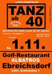 Ü40-Party, 2442 Ebreichsdorf (NÖ), 01.11.2014, 20:00 Uhr