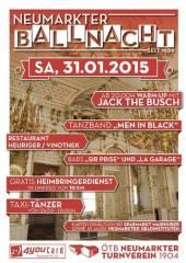 Neumarkter Ballnacht 2015, 4720 Neumarkt im Hausruckkreis (OÖ), 31.01.2015, 20:00 Uhr