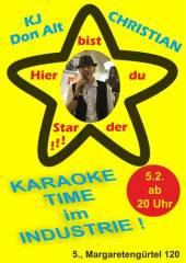 Karaoke im Industrie!, 1050 Wien  5. (Wien), 05.02.2015, 20:00 Uhr