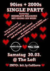 90ies & 2000s SINGLE Party <3, 1160 Wien,Ottakring (Wien), 30.03.2019, 21:45 Uhr