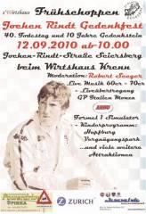 Jochen Rindt Gedenkfest mit Frühschoppen, 8054 Seiersberg (Stmk.), 12.09.2010, 10:00 Uhr