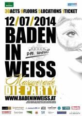 Baden in Weiß presented by Heineken, 2500 Baden (NÖ), 12.07.2014, 21:00 Uhr
