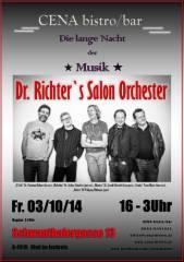 Dr. Richter's Salon Orchester, 4910 Ried im Innkreis (OÖ), 03.10.2014, 21:00 Uhr
