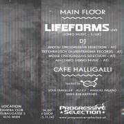 Progressive Selection - 06.12.2014 pres. Lifeforms live  @ Club Camera, 1070 Wien  7. (Wien), 06.12.2014, 23:00 Uhr