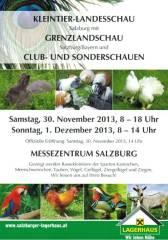 Kleintier-Landes- und Grenzlandschau Salzburg, 5020 Salzburg (Sbg.), 30.11.2013, 08:00 Uhr