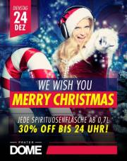 We Wish You Merry Christmas, 1020 Wien  2. (Wien), 24.12.2013, 23:00 Uhr