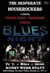 One Night for the Blues II, 3430 Tulln an der Donau (NÖ), 07.03.2014, 19:00 Uhr