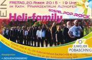 Konzert heli-family, 9330 Althofen (Ktn.), 20.02.2015, 19:00 Uhr