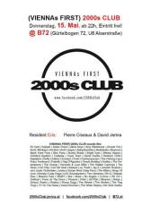 (Viennas First) 2000s CLUB, 1080 Wien  8. (Wien), 15.05.2014, 22:00 Uhr