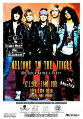 Welcome To The Jungle - Die 80er-Rock-Benefiz-Party, 1030 Wien  3. (Wien), 17.01.2015, 21:00 Uhr