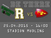 AFC Rangers Mödling - St. Pölten Invaders, 2340 Mödling (NÖ), 25.04.2015, 16:00 Uhr