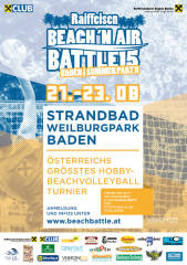 Raiffeisen Beach 'n Air Battle Summer Part II, 2500 Baden (NÖ), 21.08.2015, 09:00 Uhr