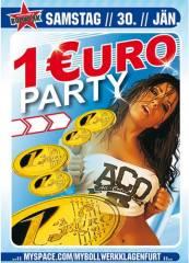 1 Euro Party, 9020 Klagenfurt  1. (Ktn.), 30.01.2010, 20:30 Uhr