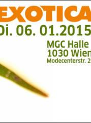 EXOTICA Reptilienbörse MGC Wien 06.01.2015, 1030 Wien,Landstraße (Wien), 06.01.2015, 10:00 Uhr