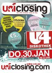 Unimag Uniclosing, 1120 Wien 12. (Wien), 30.01.2014, 22:00 Uhr