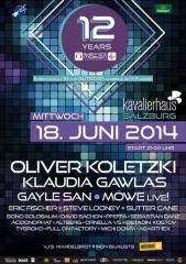 12 Years of Electronic Motion @ Kavalierhaus Salzburg, 5071 Wals (Sbg.), 18.06.2014, 21:00 Uhr