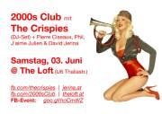 2000s Club mit THE CRISPIES DJ-Set!, 1160 Wien,Ottakring (Wien), 03.06.2017, 21:00 Uhr