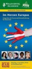 Im Herzen Europas - Jukic, Biffl, Schwarz und Nikiema zu Integration!, 3580 Horn (NÖ), 03.06.2014, 19:00 Uhr