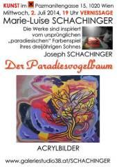 Marie-Luise Schachinger Der Paradiesvogelbaum, 1020 Wien  2. (Wien), 15.08.2014, 18:00 Uhr