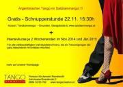 Gratis Tango Argentino Schnupperstunde, 4810 Gmunden (OÖ), 22.11.2014, 15:30 Uhr