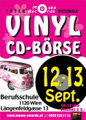 Moses-Records VINYL und CD-BÖRSE WIEN Längenfeldgasse, 1120 Wien,Meidling (Wien), 12.09.2015, 10:00 Uhr