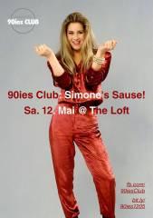 90ies Club: Simone's Sause!, 1160 Wien,Ottakring (Wien), 12.05.2018, 21:00 Uhr