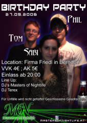 Birthdayparty, 5165 Berndorf bei Salzburg (Sbg.), 27.09.2008, 20:00 Uhr