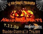Halloween-Party, 3160 Traisen (NÖ), 07.11.2009, 21:00 Uhr
