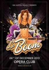 La Boom - Horny Room, 1010 Wien  1. (Wien), 06.12.2013, 22:00 Uhr