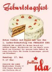 FROLLEIN IDA Geburtstagsfest & 40 Jahre Neunkirchner Straße, 2700 Wiener Neustadt (NÖ), 17.05.2014, 09:00 Uhr