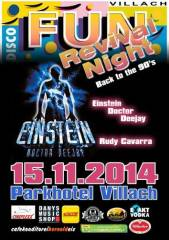 Discothek FUN Villach - Back to the 90's, 9500 Villach-Innere Stadt (Ktn.), 15.11.2014, 20:00 Uhr