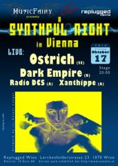 A Synthful Night in Vienna Ostrich - Dark Empire - Radio DCS - Xanthippe, 1070 Wien  7. (Wien), 17.10.2014, 20:00 Uhr