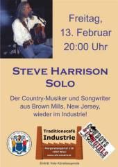 Steve Harrison im Industrie!, 1050 Wien  5. (Wien), 13.02.2015, 20:00 Uhr