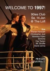 90ies Club: Welcome to 1997!, 1160 Wien,Ottakring (Wien), 14.01.2017, 21:00 Uhr