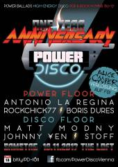 POWER DISCO  One Year Anniversary, 1160 Wien,Ottakring (Wien), 18.11.2017, 21:45 Uhr