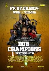 Bunfiresquad & Bushplanet präsentieren DUB Champions Festival 2014 ft. Mad Professor, 1090 Wien  9. (Wien), 07.02.2014, 19:00 Uhr