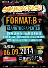 Summercrash@Republic, 5020 Salzburg (Sbg.), 06.09.2014, 21:00 Uhr