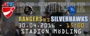 AFC Rangers Mödling - Ljublana Silverhawks, 2340 Mödling (NÖ), 30.04.2016, 15:00 Uhr