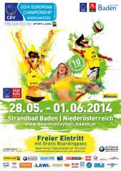 CEV Baden Masters presented by Sport.Land.NÖ, 2500 Baden (NÖ), 28.05.2014, 00:00 Uhr