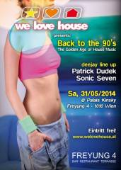 Back to the 90's - The Golden Age of House Music!, 1010 Wien  1. (Wien), 31.05.2014, 20:00 Uhr